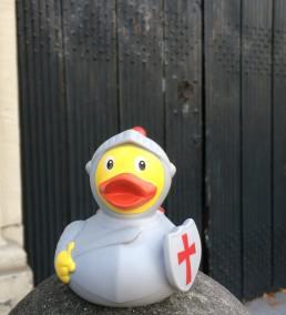Knight Rubber Duck Keizersgracht