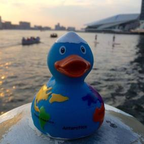 Traveler Rubber Duck