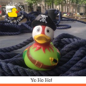 Hoist the Jolly Roger and cast off! For it's a pirate's life @ Herengracht Amsterdam. Savvy?