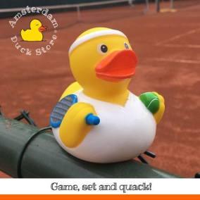 Preparing for Wimbledon @Tennis court Vondelpark