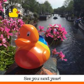 Looking back on a great Pride 2017. Hope to see you again next year! @ Prinsengracht Amsterdam