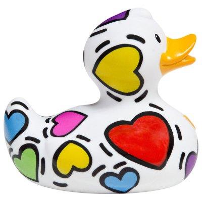 Pop Hearts Rubber Duck Amsterdam Duck Store