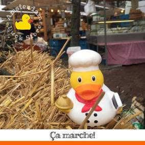 Baker rubber duck Noordermarkt Amsterdam Duck Store