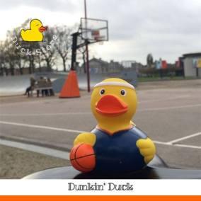 Basketball rubber duck Museumplein Amsterdam Duck Store