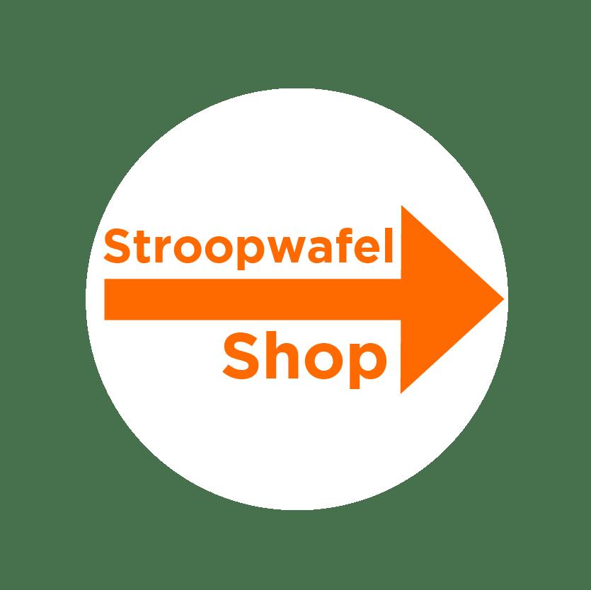 Stroopwafel Shop Amsterdam! Good Cookies knop ENG