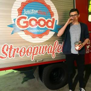 Graphic Designer Iggy Stroopwafels Amsterdam! Good Cookies