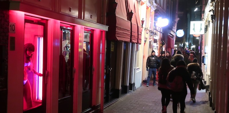 language exam for prostitutes in Red Light District