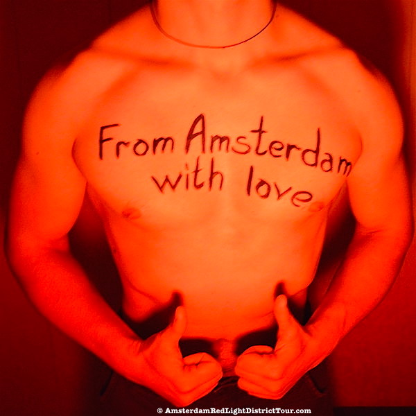 Male Prostitutes in Brothels of Amsterdam Red Light District