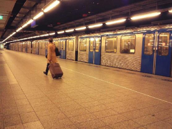Amsterdam's Metro Line, the underground