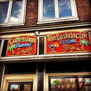 Amsterdam's Coffeeshop The Bushdocter