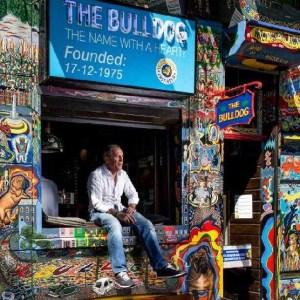 Henk de Vries, owner of Amsterdam's coffeeshop The Bulldog