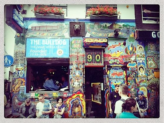 Coffeeshop Bulldog 90 In Amsterdam. The Whole Story