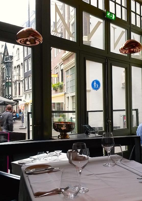 Restaurant Anna Amsterdam interior