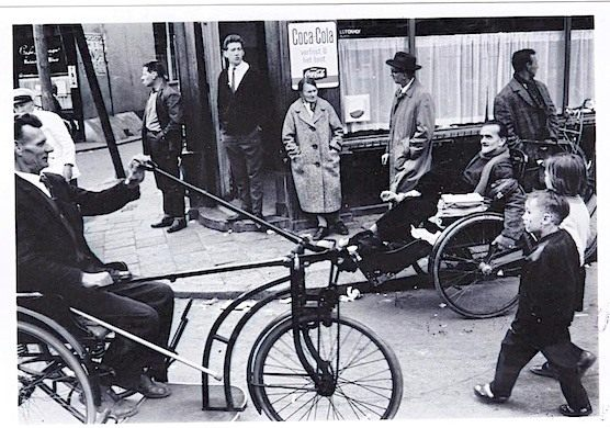 This is how the Zeedijk street in Amsterdam looked like in 1963. This is now the place where coffeeshop the Jolly Joker is located.
