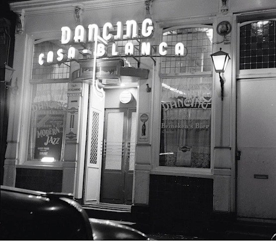 Amsterdam, Red Light District, Cafe Casa Blanca, 1960.
