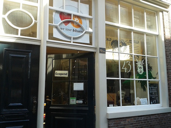 Coffeeshop Hofje van Wijs in Amsterdam's Red Light District accepts Bitcoins