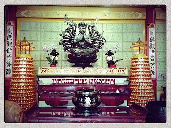 Chinese Temple Amsterdam interior