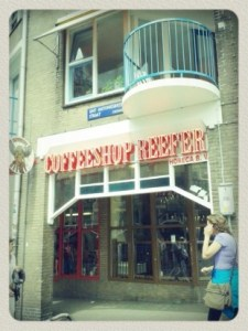 Amsterdam's coffeeshop Reefer