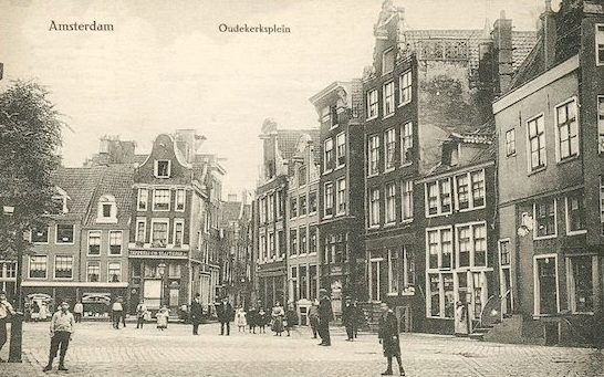history of red light district