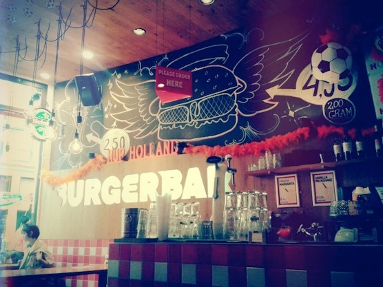 Amsterdam's Burger Bar
