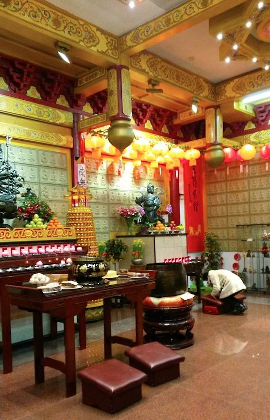 Chinese Temple Amsterdam Red Light District
