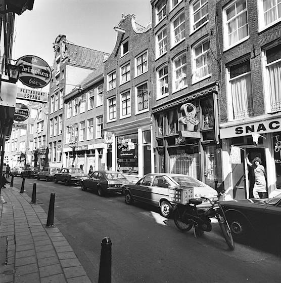 zeedijk amsterdam cafe 1976