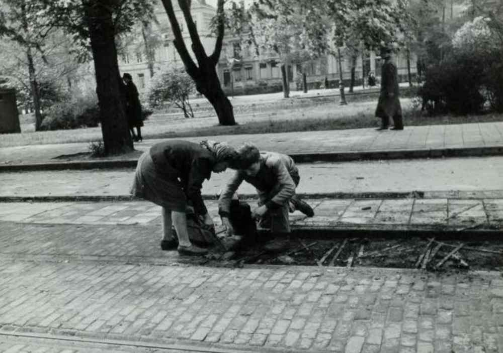Red Light District During World War Two