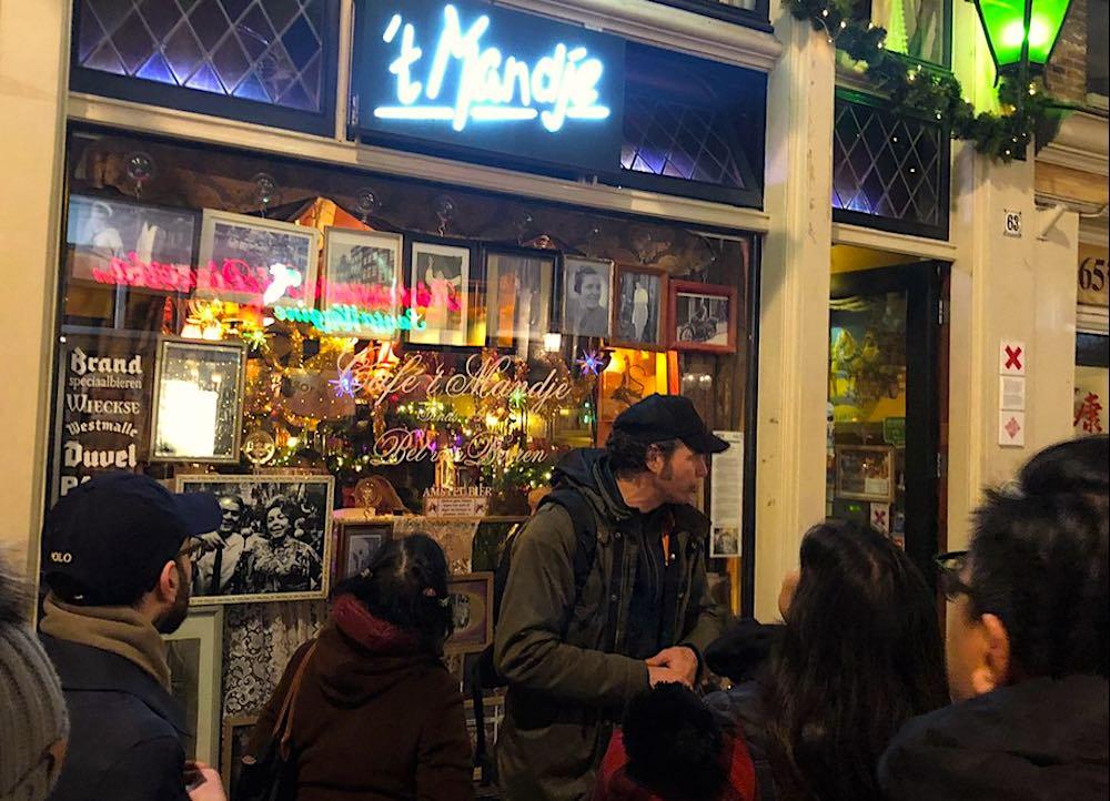 Cafe 't Mandje Amsterdam