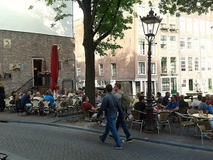 Amsterdam's Cafe Aen 't Water