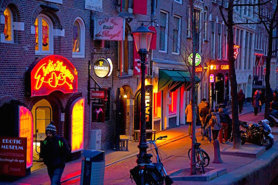 Erotic Museum in Amsterdam Red Light District
