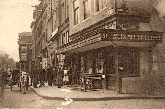 This is how the Temple Bar in Amsterdam used to look like. Great historical pic of the Red Light District as well.