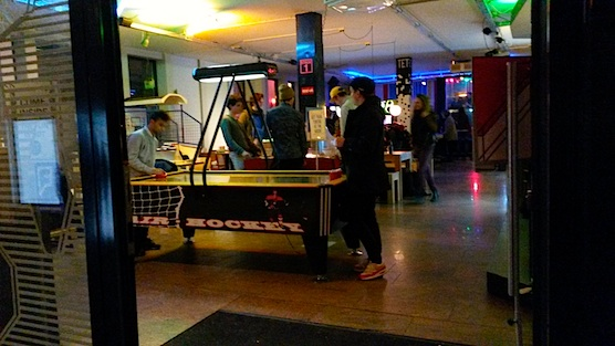 This is the Ton Ton Club, which is the only (arcade) game room in Amsterdam.