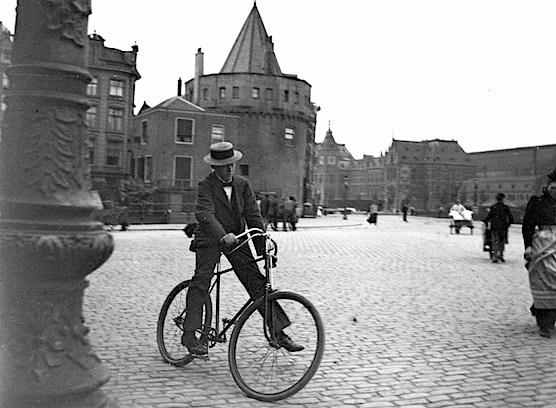 Amsterdam Schreierstoren. Year 1900.
