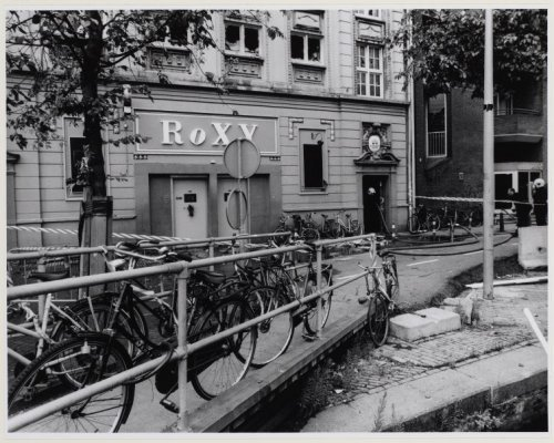 The infamous club Roxy in Amsterdam used to being very popular among house music lovers.