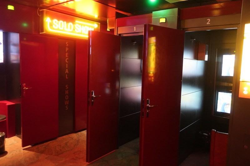 Amsterdam Peep Show Inside