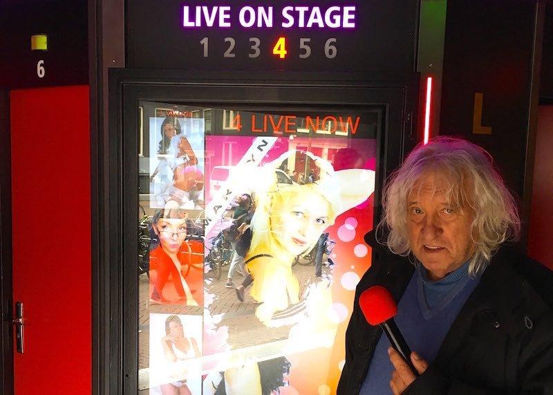 Amsterdam Peep Show Owner Jan Otten