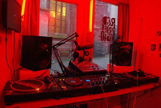 Dj 39 S Perform In Red Light District During The Ade