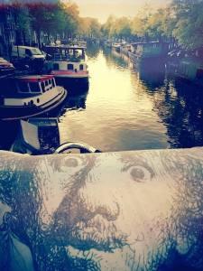 pictures of rembrandt van rijn in Amsterdam