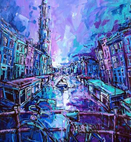 Awesome Postcards of Amsterdam. Buy them here exclusively!