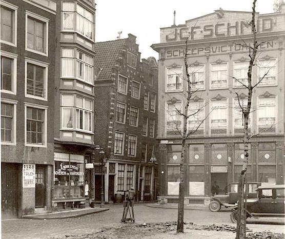 Amsterdam Zeedijk Prins Hendrikkade 1928.