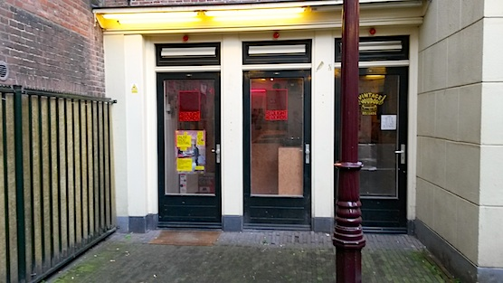Amsterdam Red Light District Record Stores