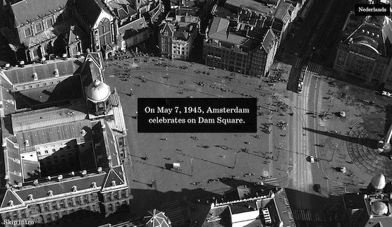 Placeastone.nl is a new initiative or memorial for the victims of May 7th 1945 on Amsterdam Dam Square.