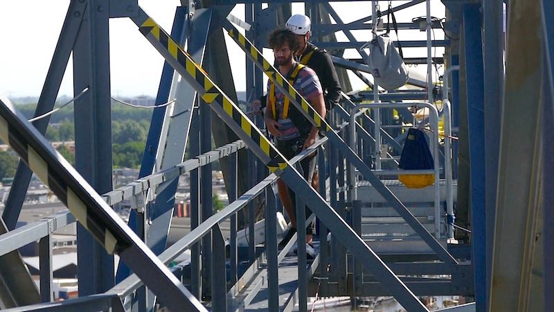 Bungee Jumping in Holland