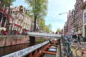 3d printed bridge Amsterdam Red Light District Location