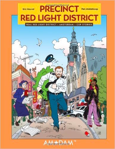 Book Comic Red Light District Precinct Police