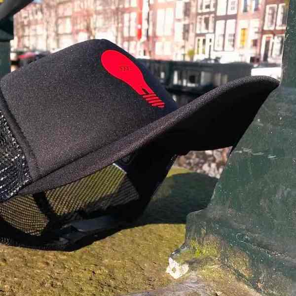 Amsterdam Fashion: Red Light District Trucker Hats
