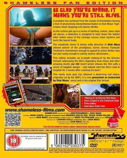 Amsterdamned DVD back-side (1988)