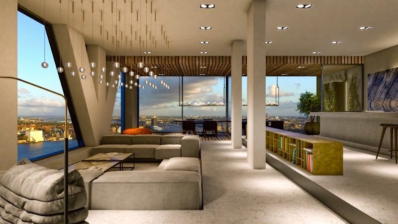 Brad pitt misses out on biggest penthouse in for Most expensive penthouse in nyc