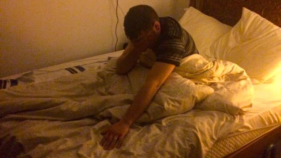 Amsterdammer Finds Drunk British Lad In His Own Bed