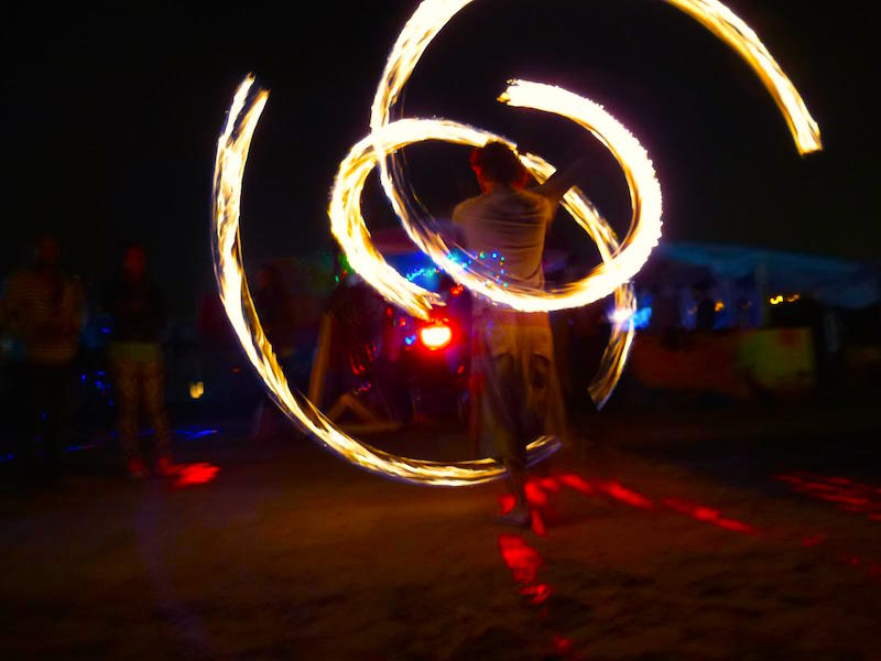 Poi Spinning in Amsterdam for Beginners